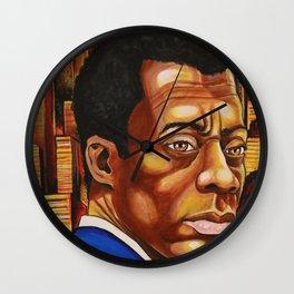 James Baldwin: The Fire Next Time Wall Clock
