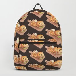 Smile Dog Burger Backpack