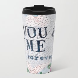 You & Me Metal Travel Mug