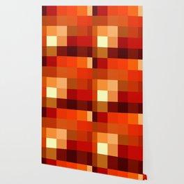 BLOCKS - RED TONES - 1 Wallpaper