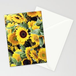 Happy Sunflowers Stationery Cards