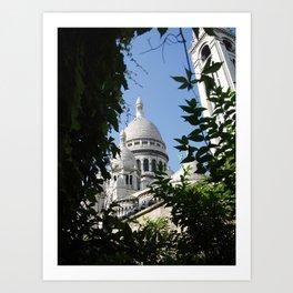 Sacré Coeur Montmartre Art Print