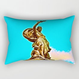 Welcome to Highland Park Rectangular Pillow