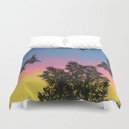 Live Oak Sunset Duvet Cover