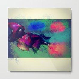 DinoFish Metal Print