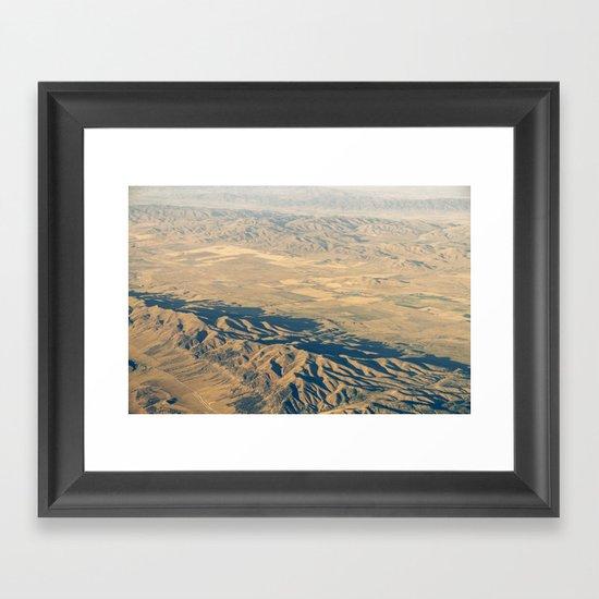 High Desert Framed Art Print