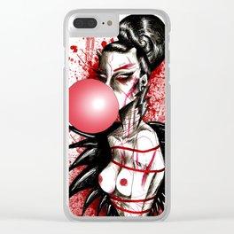 Bubblegum Bitch Clear iPhone Case