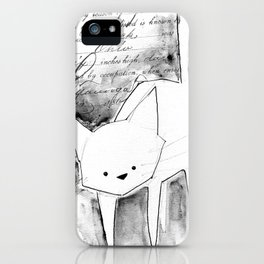 minima - deco cat iPhone Case