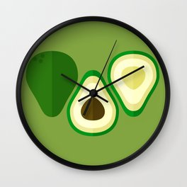 Bravocado Wall Clock