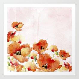Beautiful Poppies #society6 Art Print