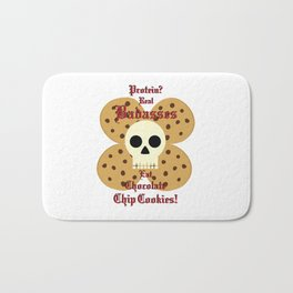 Real Badasses Eat Cookies! Bath Mat
