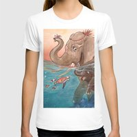 elephants T-shirts featuring Elephants by Paloma  Galzi