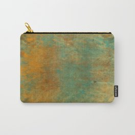 Copper and Turquoise Carry-All Pouch