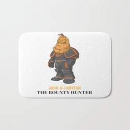 JACK-O-LANTERN The Bounty Hunter Bath Mat