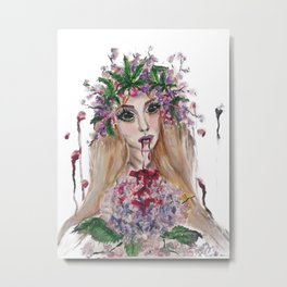 Blood Lust Metal Print
