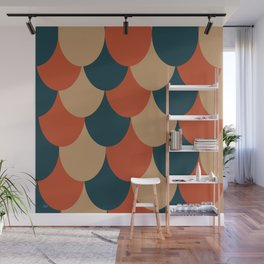 Multi-Drape Wall Mural