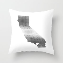 Orange County California Love Throw Pillow