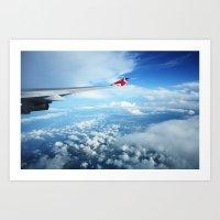 Mid-Air Art Print