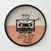 history Wall Clocks featuring History by Art of Nanas