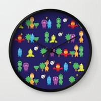 dinosaurs Wall Clocks featuring Dinosaurs! by ShannonHatchNZ