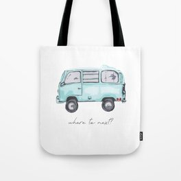 Canadian Road Trip Tote Bag