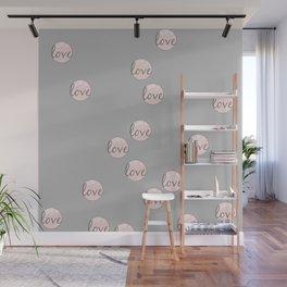 Love bubbles Wall Mural