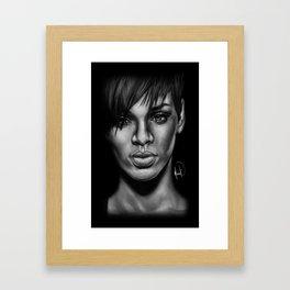 Rihanna Framed Art Print