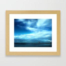 Off to Sea Framed Art Print