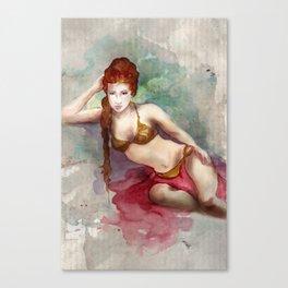 The Slave Girl Canvas Print