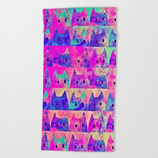 cats-338 Beach Towel