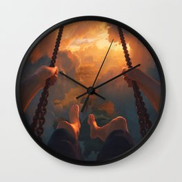 View From Above Wall Clock