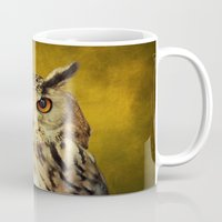 elmo Mugs featuring Elmo IV by Astrid Ewing