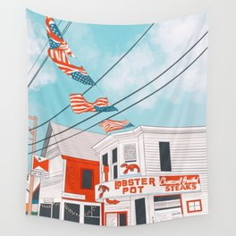 An Afternoon in Provincetown Wall Tapestry