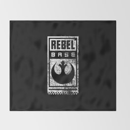 Rebel Base Throw Blanket