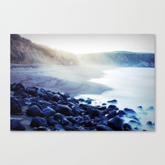 When the ocean meets the island Canvas Print