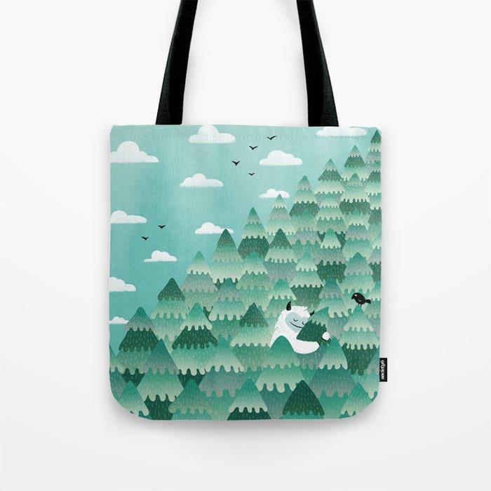 Tree Hugger (Spring & Summer version) Tote Bag