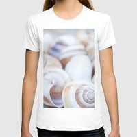 shells T-shirts featuring Shells by Daisy Thijssen