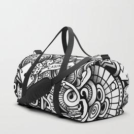 casino doodle 1 Duffle Bag