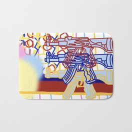 Toy gun (wilder) Bath Mat