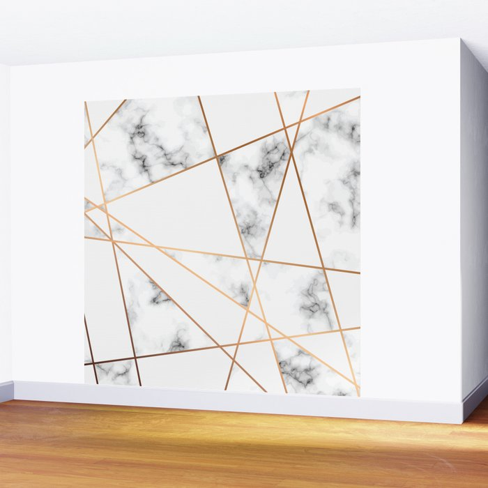 Marble Geometry 054 Wall Mural