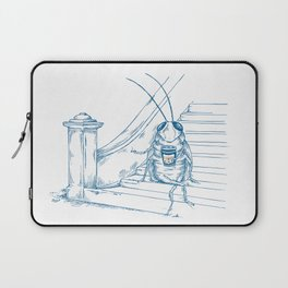 Cup O' Coffee NYC Style_cockroach Laptop Sleeve