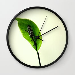 The Green Hoodie Wall Clock