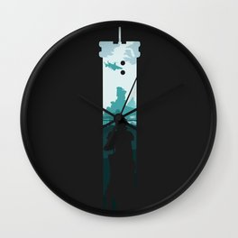 The Buster Sword Wall Clock