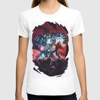 magneto T-shirts featuring Magneto vs Megatron by Larrydraws