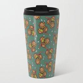 Crunchy nuts pattern Travel Mug