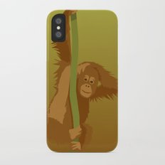 Orang Utan iPhone X Slim Case