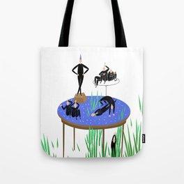 Human still life Tote Bag