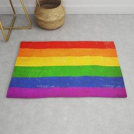 Gay Pride Flag LGBQT Rug