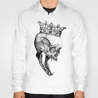 Hoodies featuring Ancients Kings : The Wolf by Sinpiggyhead