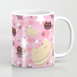 He left his family behind! Cookie Cat! Coffee Mug